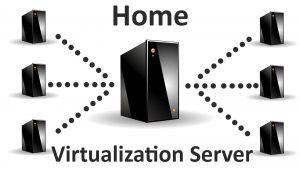ilustrasi virtual environment server
